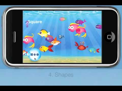 Fish School - by Duck Duck Moose (iPad, iPhone app for kids)