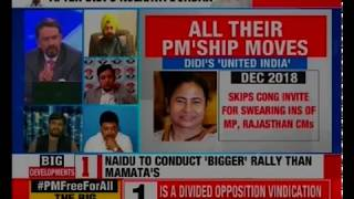 Is a divided opposition vindication of BJP's 'opportunism' claim? Nation At 9  | Rishabh Gulati - NEWSXLIVE
