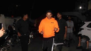 SPOTTED: Ranveer Singh  at Otters Club, Bandra - HUNGAMA