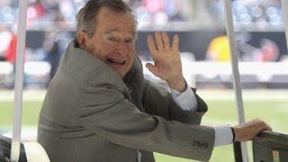 Thumbs up from George H.W. Bush - CNN
