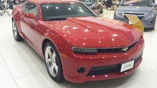 """شفرولية كامارو 2015 بجميع الفئات """"تقرير وفيديو وصور واسعار ومواصفات"""" Chevrolet Camaro"""