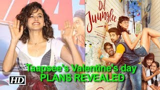 Taapsee's Valentine's day PLANS REVEALED | Dil Juunglee - IANSLIVE