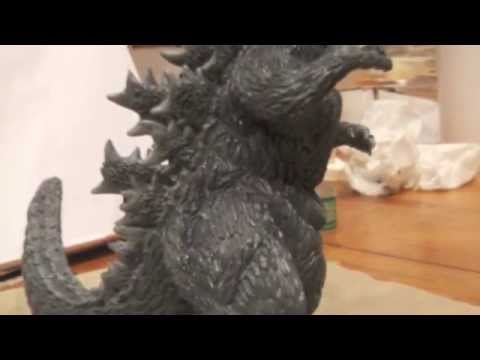 Making of Godzilla 1954 Gojira Sculpture Custom Figure
