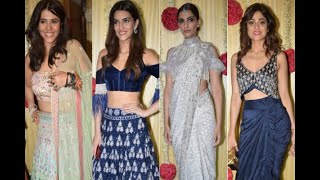 In Graphics: Akshay kumar, Alia Bhatt, Sonam Kapoor and many celebs attend Ekta Kapoor's G - ABPNEWSTV