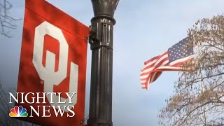 Two University Of Oklahoma Students Leave School After Blackface Routine | NBC Nightly News - NBCNEWS