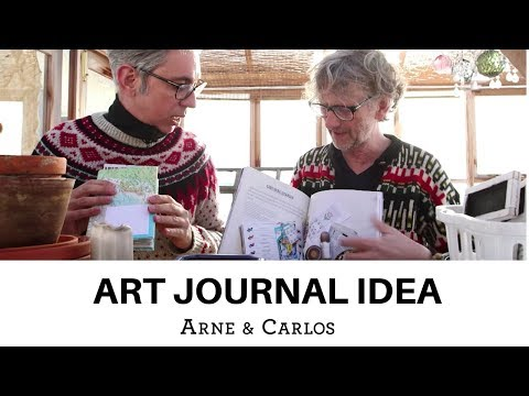 A Great Art Journaling and Scrap Booking idea by ARNE & CARLOS