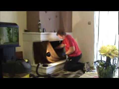 Πυροστιά - Καθαρισμός τζακιού