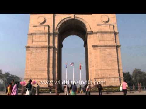 India Gate : A memorial of martyr soldiers