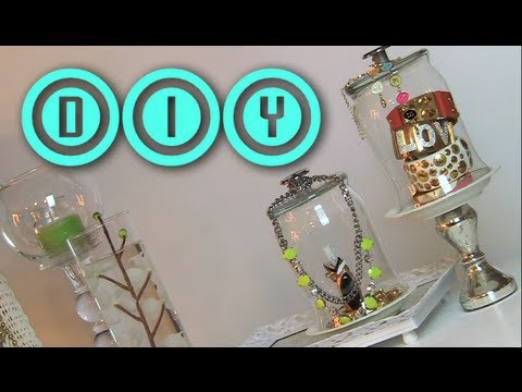 DIY Cloche Jewelry Holder | Rings & Bracelets