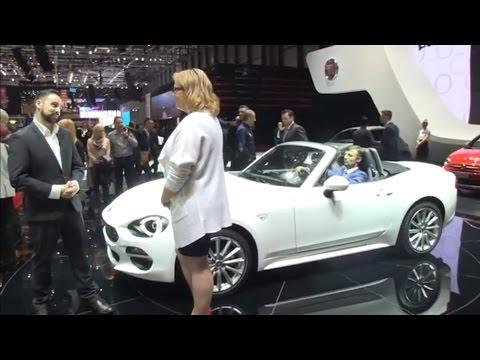 Autoperiskop.cz  – Výjimečný pohled na auta - Autosalon Ženeva 2016 – Fiat Tipo, Fiat 124 Spider, Fiat Fullback – VIDEO