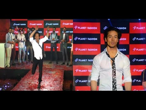 Tiger Shroff's Ramp Walk Stunts!