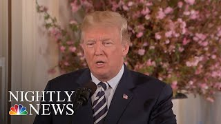 President Trump: If I Were Embattled VA Nominee Ronny Jackson, I'd Withdraw | NBC Nightly News - NBCNEWS