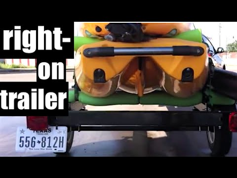 YAKNTEXAS~ new super light KAYAK FISHING TRAILER