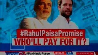Rahul Gandhi Minimum Income Scheme for 20% of poor with Rs 6,000 per month, Who'll pay for it? - NEWSXLIVE