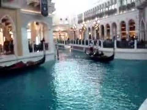 Gondola Ride in The Venetian Las Vegas