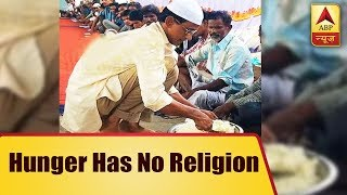 For 6 years, Azhar Maqsusi has been feeding Hyderabad's needy and homeless - ABPNEWSTV