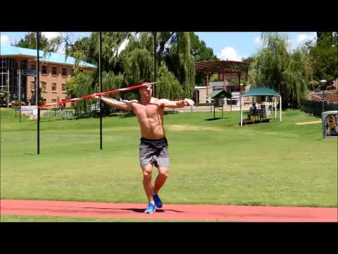 Javelin Throw / Kim Amb / Training camp in South Africa 2015