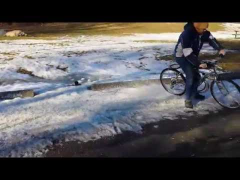Ported Racing Motorized Bicycle 66cc Snow Romp