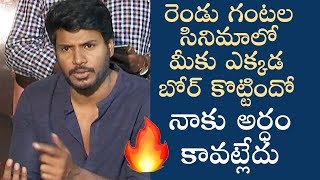 Sundeep Kishan About Movie Critics & Tenali Ramakrishna Movie Response - TFPC