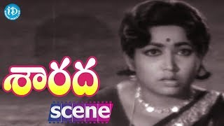 Sarada Movie Scenes - Sharada Goes To Meet Jayanti || Shobhan Babu || Allu Ramalingaiah - IDREAMMOVIES