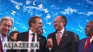 Macron: World is losing battle against climate change - ALJAZEERAENGLISH