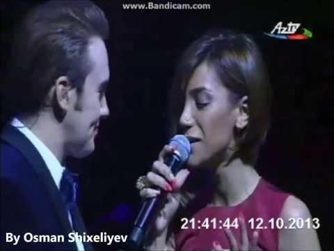 Röya və Mustafa Ceceli - Gizli Sevgi ( Baku 2013 )