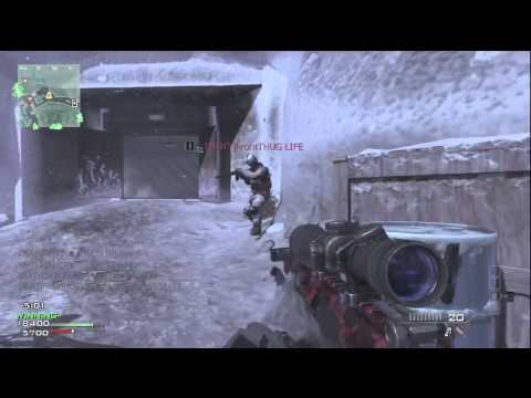 MW3: FANTASTIC 5 Man Quick Scope Multi-kill Feed with Barret 50.cal | Modern Warfare 3