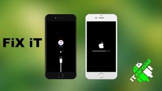 Восстановление айфона 4/4s/5/5s/6/6s/SE/7 apple iphone iTunes Logo Fix