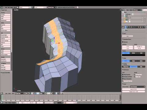 Blender Level Creation Tutorial (Part 01)