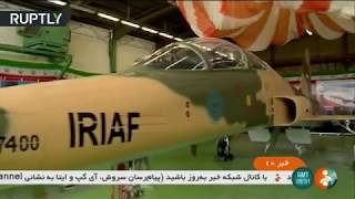 Iran unveils 1st domestic fighter jet, Rouhani gets in cockpit - RUSSIATODAY