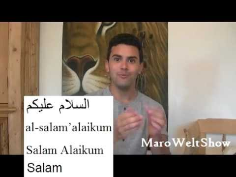 ARABISCH für ANFÄNGER!!! 1x1-  تعلم العربية  Arabic Beginner Lesson 1- My name is