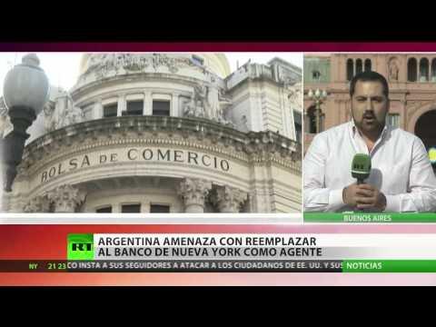 Argentina insta a bonistas a pedir que el Banco de Nueva York deje de manejar la deuda