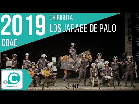 Sesión de Preliminares, la agrupación Los jarabe de palo actúa hoy en la modalidad de Chirigotas.