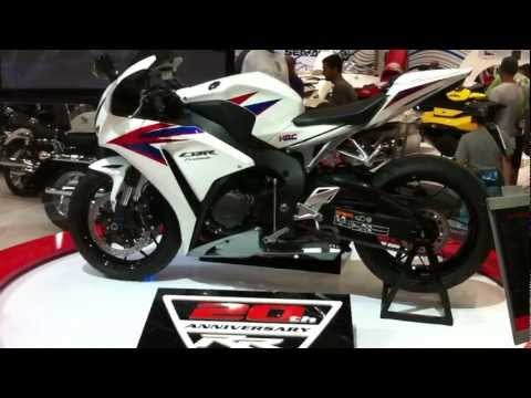 2012 Honda CBR1000RR at Sydney Motorcycle &amp; Scooter Show