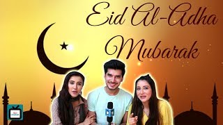 Sheena, Paras and Priyanka from Mariam Khan wish Eid Mubarak I Exclusive - TELLYCHAKKAR