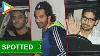 Shashank Khaitan Varun Dhawan & Ayan SPOTTED at Karan Johar's house - HUNGAMA