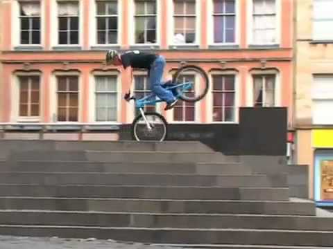 Super manobras de bicicleta