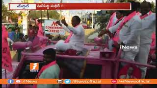 Malla Reddy And Sudheer Reddy Road Show In Medchal | Campaign For Assembly ELection | iNews - INEWS