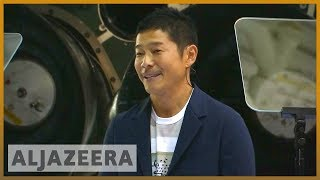 🚀 Meet Yusaku Maezawa, first SpaceX moon tourist | Al Jazeera English - ALJAZEERAENGLISH
