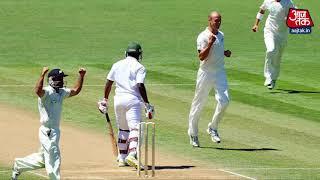 141 साल के टेस्ट इतिहास में चौथी बार एक दिन में दो बार आउट हुई पूरी टीम - AAJTAKTV