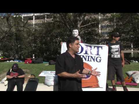 Bradley Manning - American Hero. Cenk Uygur on Fire at OccupyLA.
