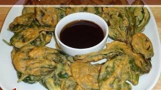 Spinach Pakodi..