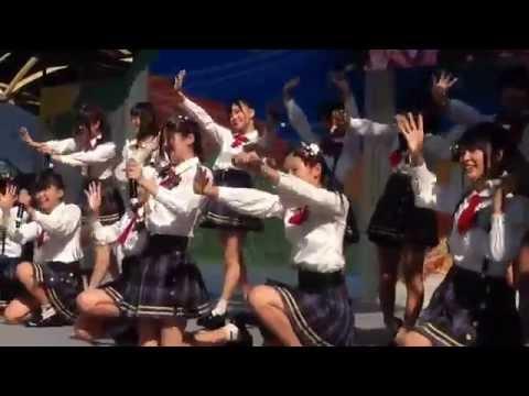 20141025AKB48チーム8『制服の羽根』初披露in久屋大通公園(愛知県)