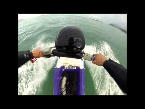 cold jersey on a jet ski (Kawasaki 750 sxi)