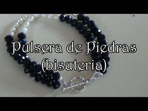 Pulsera de Cristales - Bisuteria en español