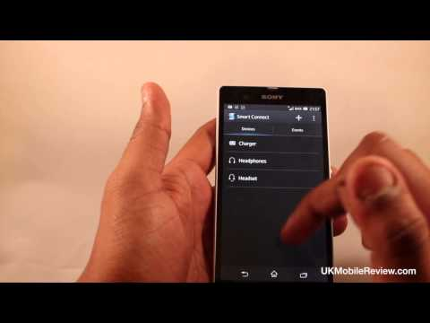 Sony Xperia Z Quick UI Demo