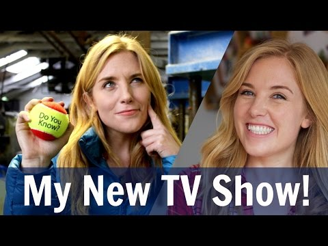 EXCITING ANNOUNCEMENT - MY NEW TV SHOW!