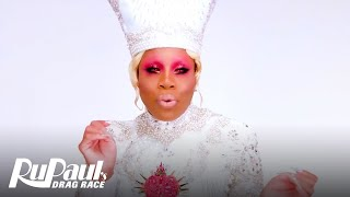 Monét X Change 'Angelic White Lewk' Makeup Tutorial 💄 | RuPaul's Drag Race All Stars 4 - VH1