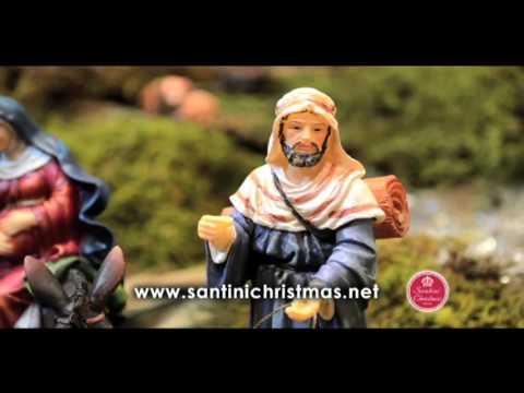 Como armar os Presépios Santini Christmas
