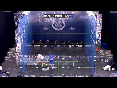 Squash : Allam British Open 2013 - PSA Final Roundup - Ramy Ashour vs Gregory Gaultier